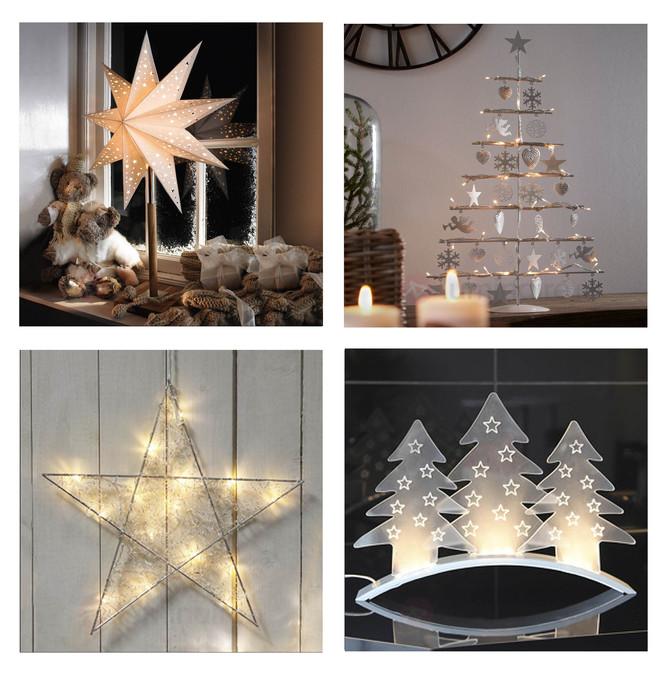 Luminaires de Noël dans tous leurs états