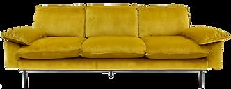 Canapé velours moutarde vintage.png