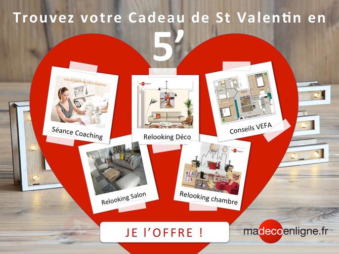 Vite, votre cadeau St Valentin livré dans votre boite mail !