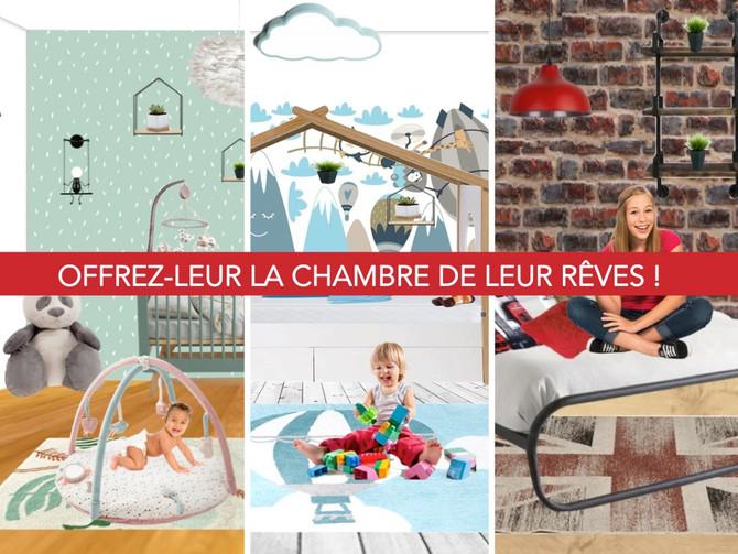5 chambres : bébés, enfants ou ados à shopper en 1 clic !