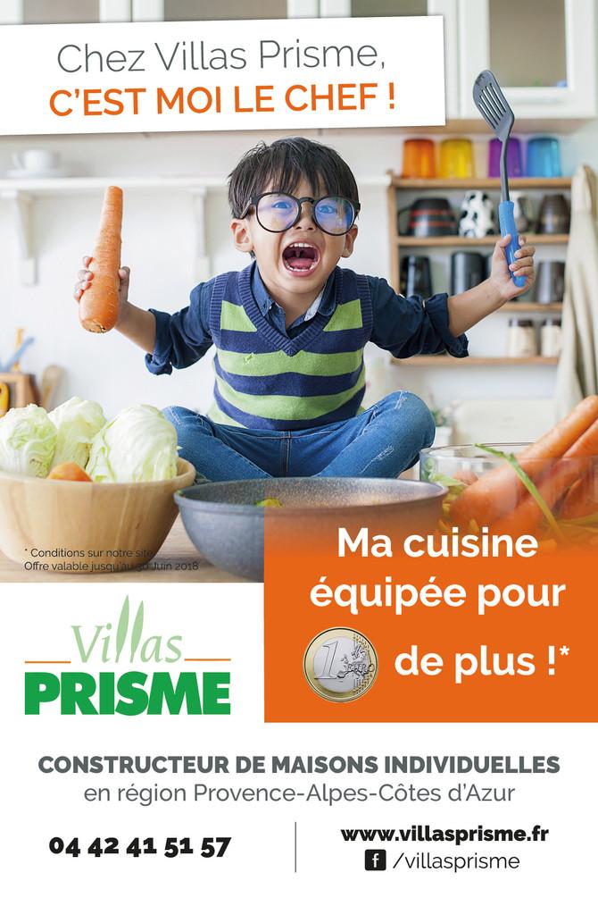 Votre future cuisine OFFERTE pour 1€ de plus* !