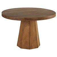 Table repas ronde teck.jpg