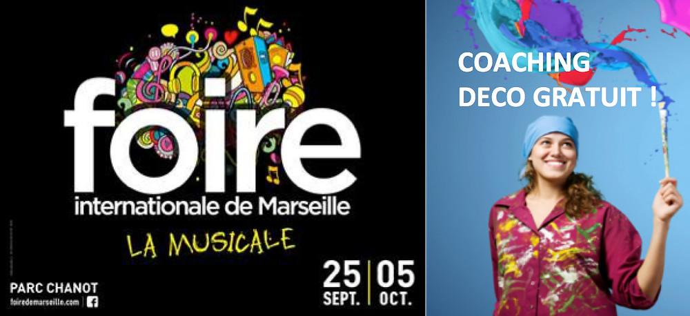 Coaching déco gratuit Foire Marseille