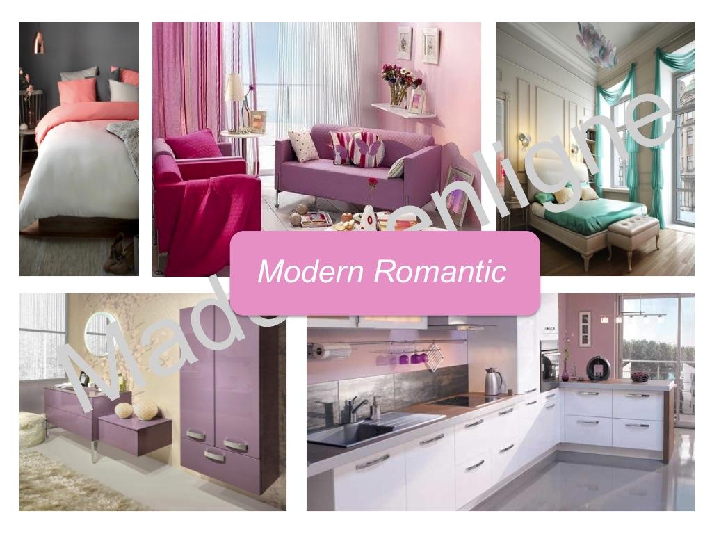 Modern romantic style