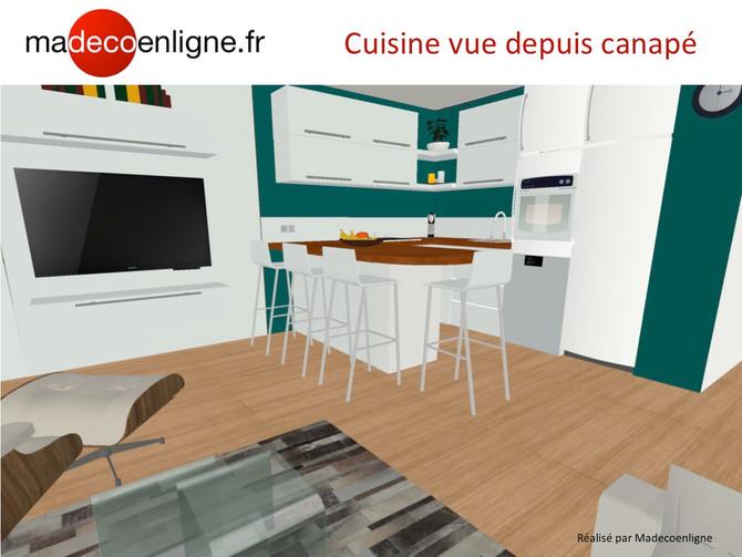 Appart sur plan en VEFA : un espace de vie à meubler et décorer dans le Vaucluse