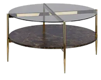 Table basse ronde verre fume laiton.png