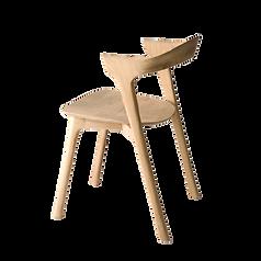 Chaise bois chêne massif clair.png