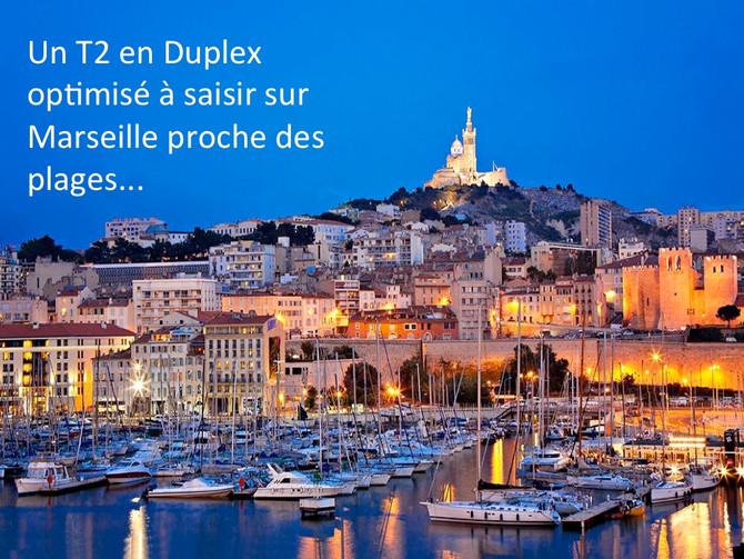 Avant/après : un T2 sur plan à saisir sur Marseille 8ème