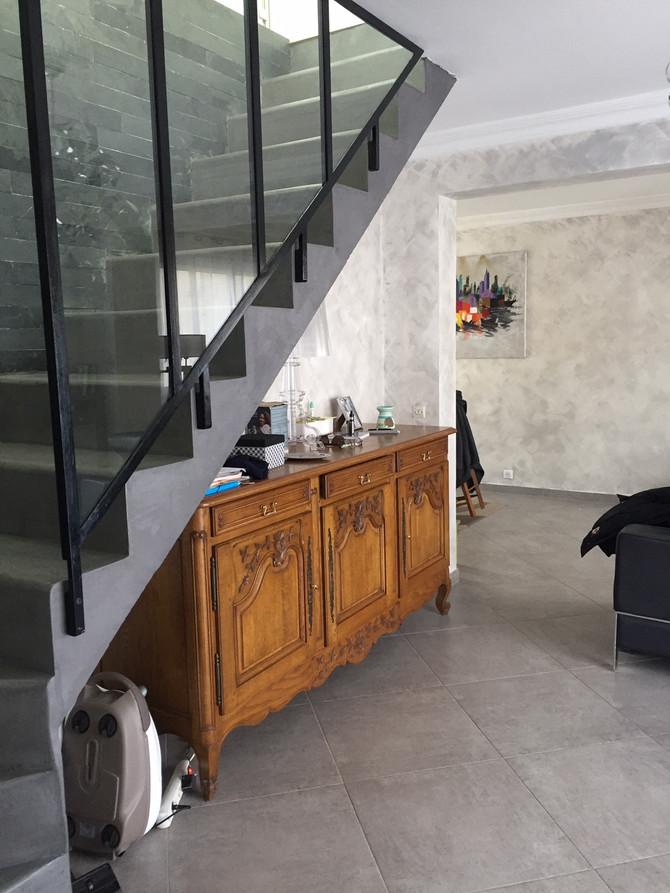 Nouveau projet : relooking complet d'un espace de vie de 40 m2