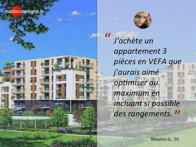 Nouveau projet : optimiser un achat immobilier sur plan en VEFA en région parisienne
