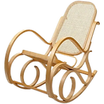 Fauteuil roching chair bois cannage.png
