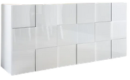 Buffet design laqué blanc.png