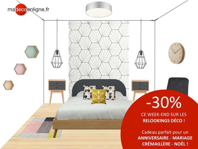 3 jours pour relooker votre chambre à -30% !