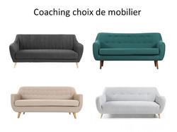 Coaching choix de mobilier