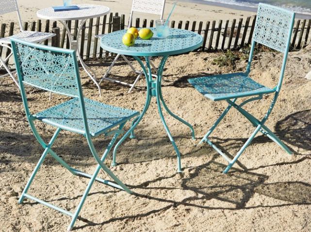 10 tables de jardin/terrasse à moins de 100€