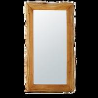 Miroir bois acacia vague.png