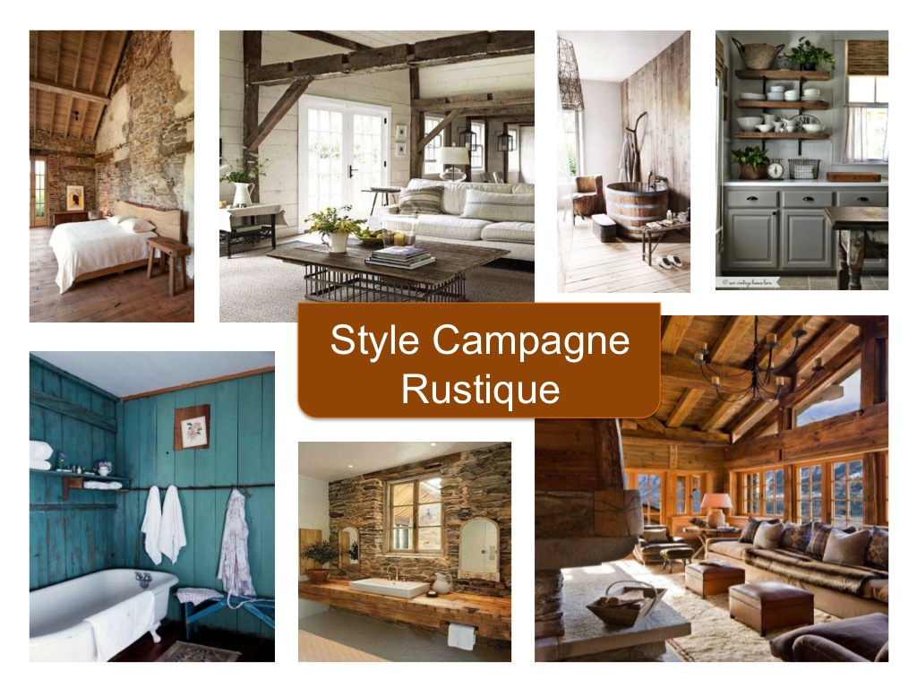 Style campagne rustique