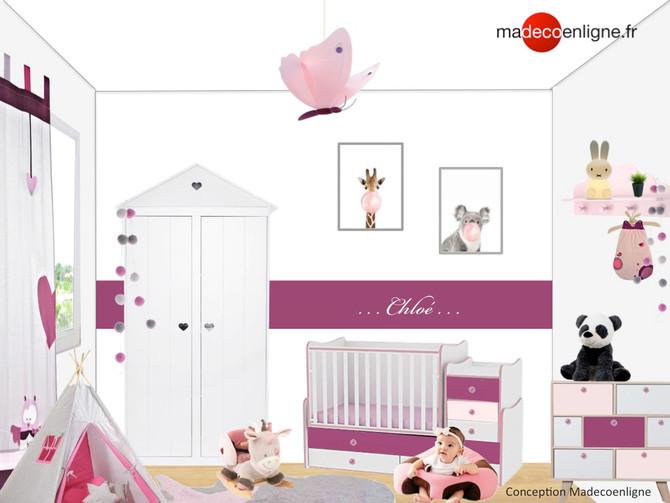 Soldes : une chambre de bébé cute et girly !