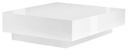 Table basse carrée laquée blanc.png