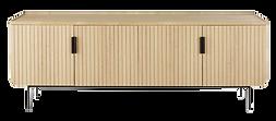 Buffet 4 portes bois clair.png