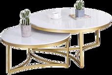 Tables basses laiton blanc.png