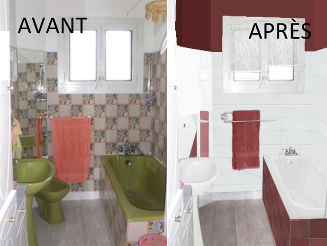 Home staging ou relooking : rénover une salle de bain datée sans trop de frais !
