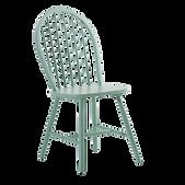 Chaise barreaux vert deau.png