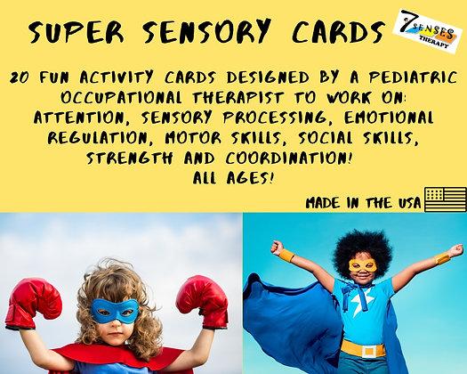 Super Sensory Cards (20 cards)