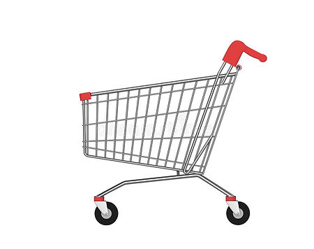 side-view-empty-shopping-cart-isolated-w