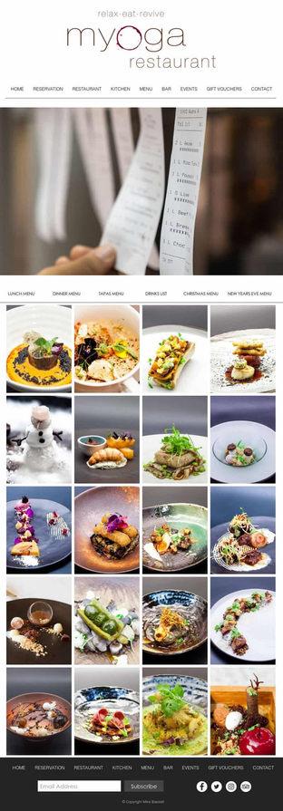 Myoga Restaurant Food Gallery