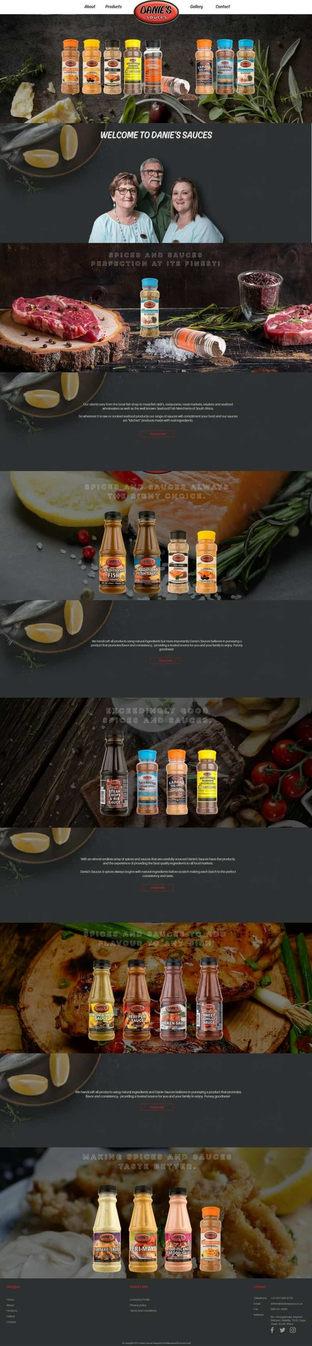 Home | Danies Sauces
