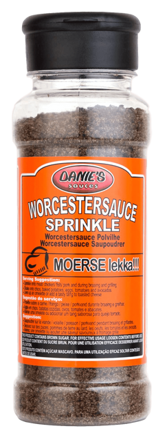 Danie's Wocestersauce Spice (Pack size: 12 x 200g. We can do bulk Packaging)