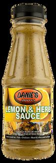 Danie's Lemon & Herb Sauce (Pack size: 24 x 375g / 4 x 5liters)