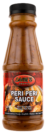 Danie's Peri-Peri  Sauce   (Pack size: 24 x 375g / 4 x 5liters)