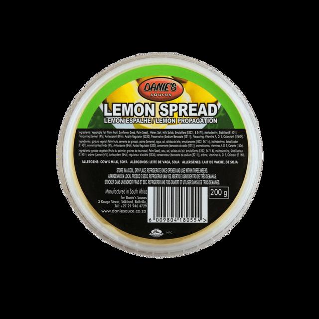 Danie's Lemon   Butter   (Pack size: 24 x 200g. We can do bulk Packaging)
