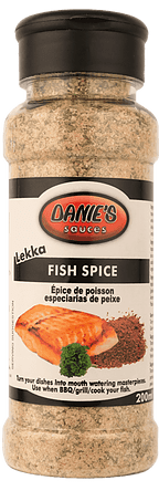 Danie's Fish Spice (Pack size: 12 x 200g. We can do bulk Packaging)