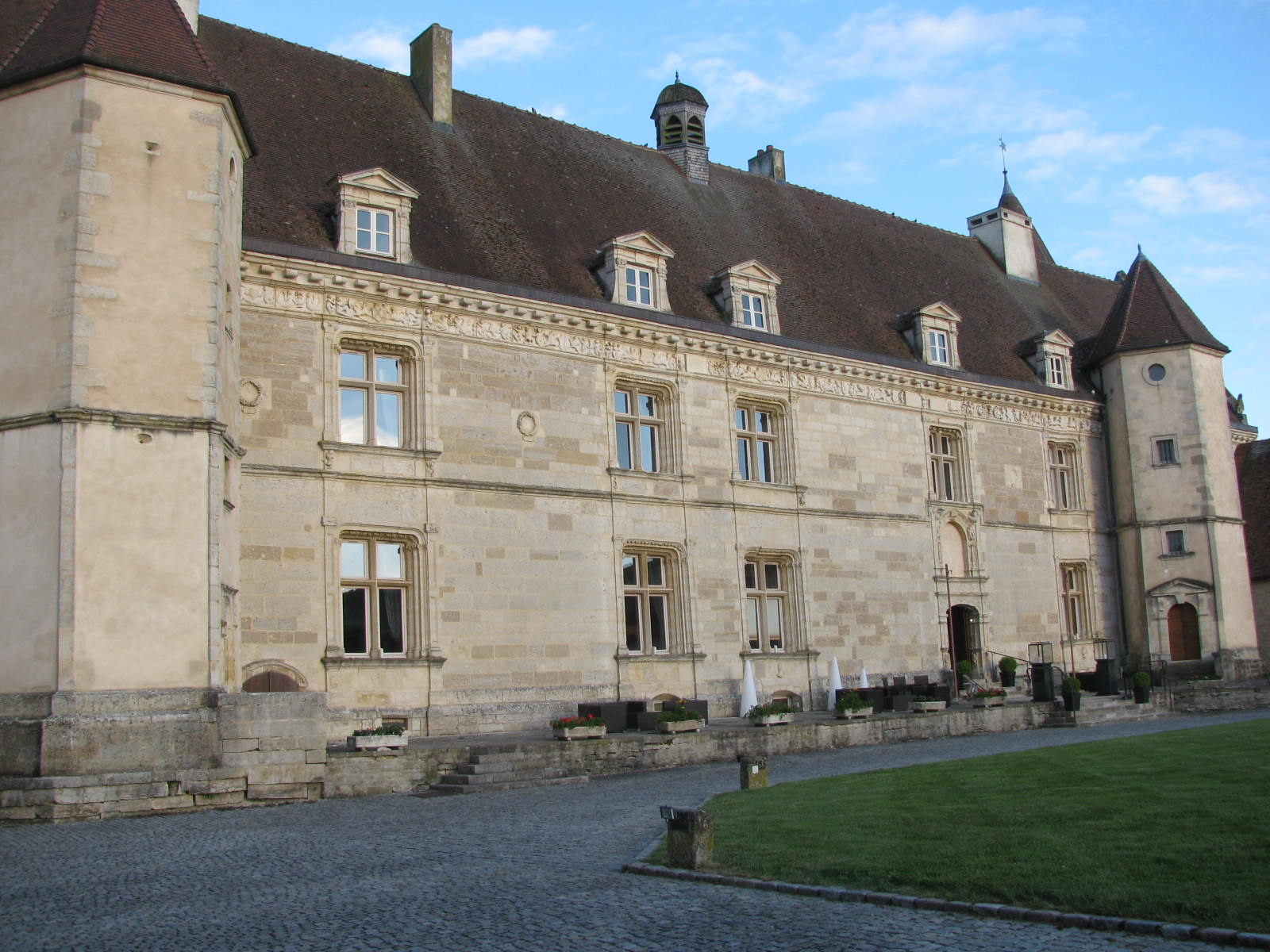 Chateau accommodations