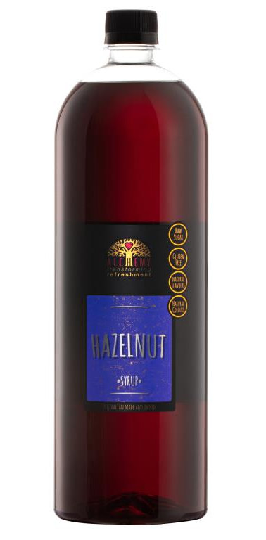 Alchemy Hazelnut Syrup 1.5lt