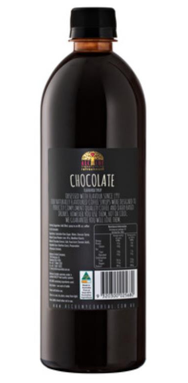 Alchemy Chocolate Syrup 750ml