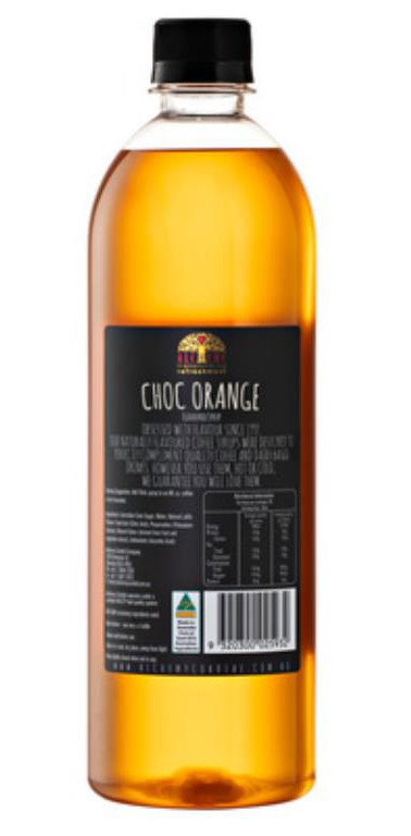 Alchemy Choc Orange Syrup 750ml