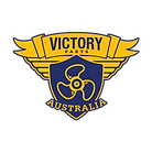 Victory Parts Logo Blue Outline RGB Tran