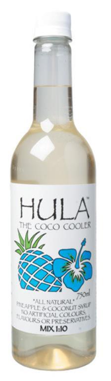 Alchemy Hula Cordial 750ml
