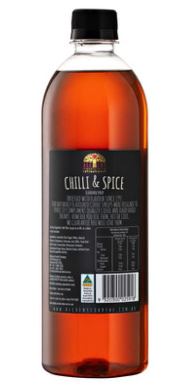 Alchemy Chilli & Spice Syrup 750ml