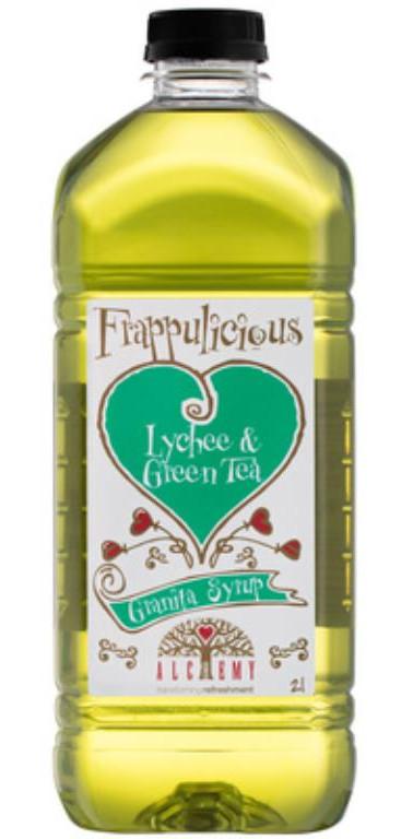 Alchemy Lychee & Green Tea Granita Syrup 2lt