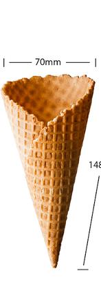 No 6 Waffle Cone