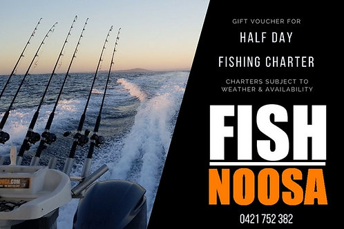 1/2 Day Fishing Charter