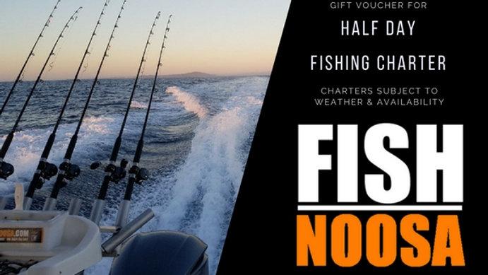 1/2 Day Fishing Charter