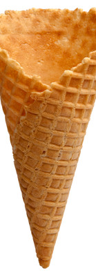 Natural Waffle Cone D