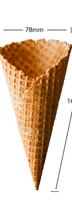 No 9 Waffle Cone