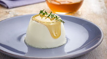 Queensland Yoghurt Natural Yoghurt & Vanilla Bean Panna Cotta with Spiced Honey Syrup